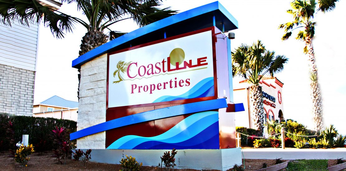 COAST line Monument